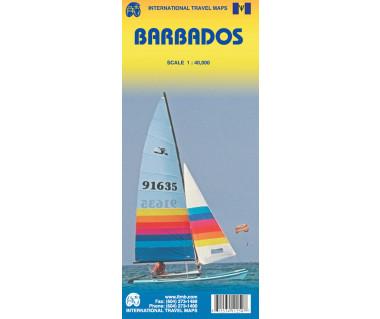 Barbados - Mapa