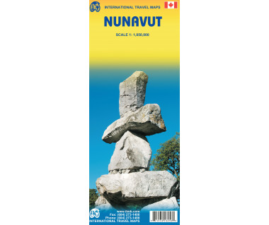 Nunavut - Mapa