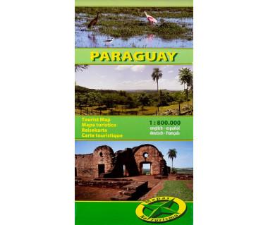 Paraguay - Mapa