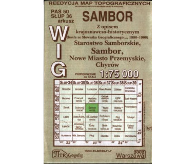 WIG Sambor - Mapa