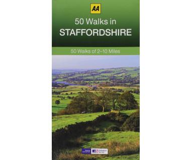 50 Walks in Staffordshire