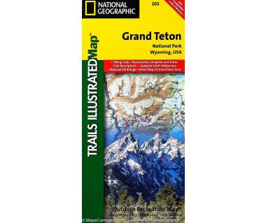 Grand Teton NP, Wyoming (202) - Mapa wodoodporna