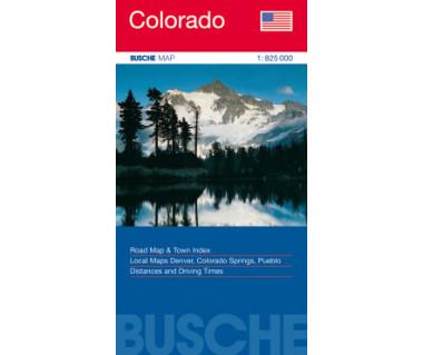Colorado - Mapa