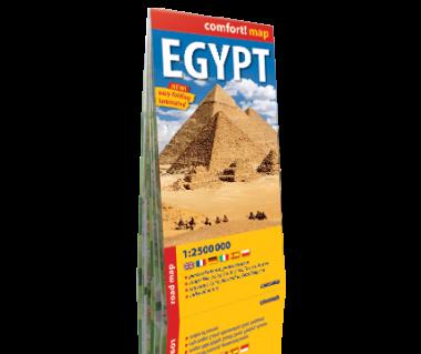 Egypt mapa laminowana