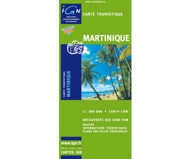 Martinique - Mapa