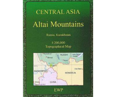 Altai Mountains (Central Asia) - Mapa