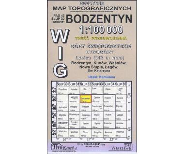 WIG 45/32 Bodzentyn (plansza) reedycja z 1934 r.