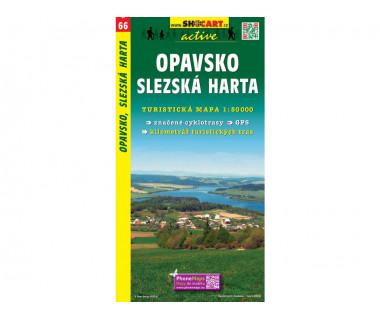 Opavsko, Slezka Harta - Mapa