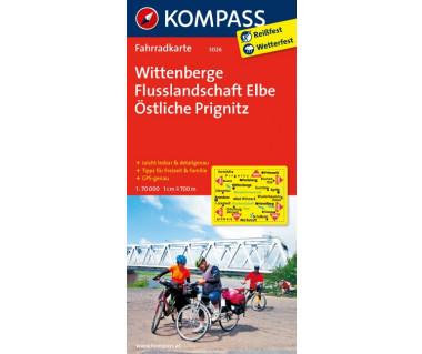 Wittenberge - Mapa rowerowa