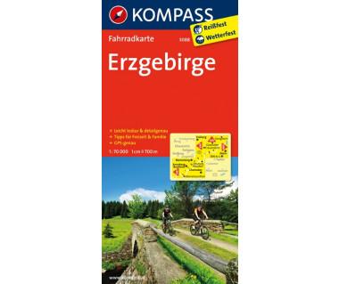 Erzgebirge - Mapa rowerowa