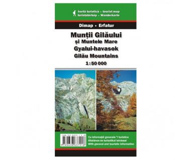 Muntii Gilaului si Muntele Mare - Mapa turystyczna