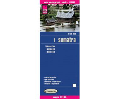Sumatra (Indonesia 1) - Mapa wodoodporna