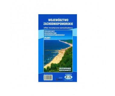 Województwo zachodniopomorskie atlas turystyczno - samochodowy