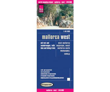 Mallorca west - Mapa wodoodporna