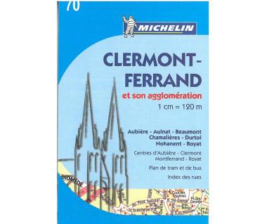 Clermont-Ferrand (M 70) - Mapa