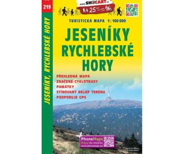 CT100 219 Jeseniky, Rychlebske Hory