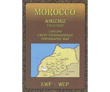 Morocco Amizmiz - Mapa