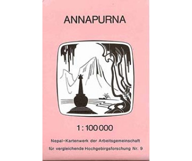 Annapurna (Nepal 9) - Mapa