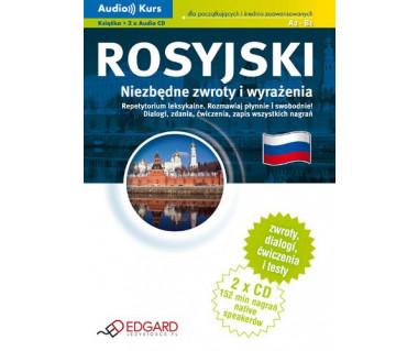 Rosyjski. Niezbędne zwroty i wyrażenia (2xCD + podręcznik)