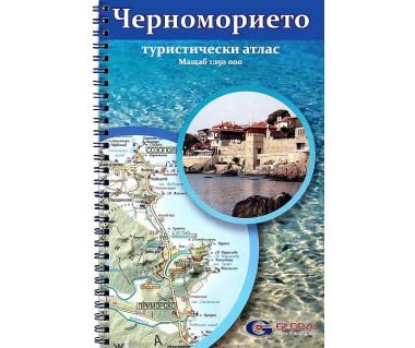Wybrzeże Morza Czarnego atlas turystyczny
