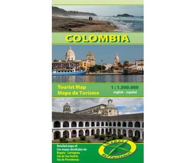 Colombia - Mapa