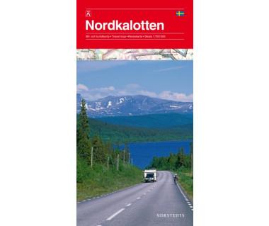 Nordkalotten (Skandynawia pn) - Mapa