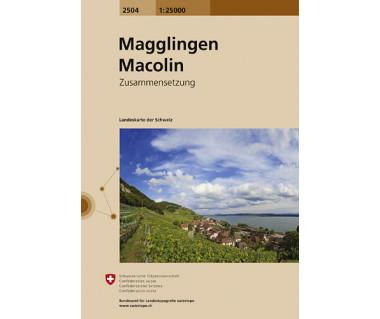 Magglingen, Macolin - Mapa turystyczna