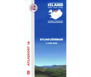 Island (18) Eyjafjordur - Mapa