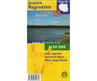 Jezioro Rajgrodzkie i okolice - Mapa