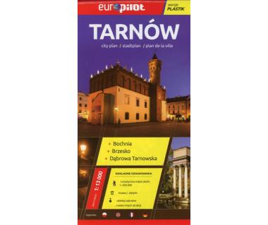 Tarnów,Bochnia,Brzesko,Dąbrowa Tarnowska plan laminowany