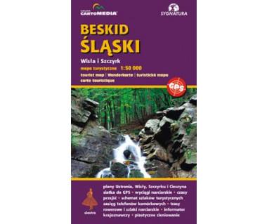 Beskid Śląski. Wisła i Szczyrk - Mapa turystyczna