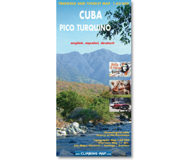 Cuba. Pico Turquino trekking and tourist map