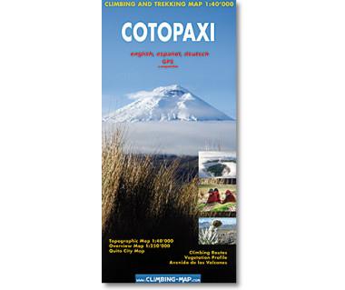 Cotopaxi - Mapa