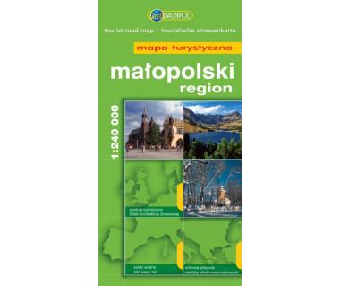 Małopolski region - Mapa