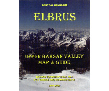 Elbrus (The Upper Baksan Valley) map & guide