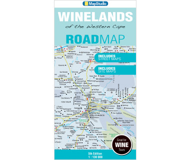 Winelands of the Western Cape road map