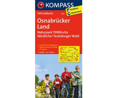 Osnabrucker Land - Mapa rowerowa