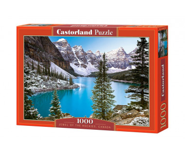 Puzzle 1000 The Jewel of the Rockies, Canada