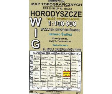 WIG 35/42 Horodyszcze (plansza) reedycja z 1929 r.