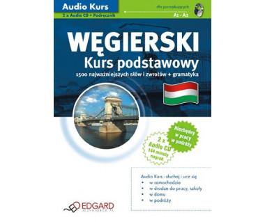 Węgierski. Kurs podstawowy (2xAudio CD+podręcznik)