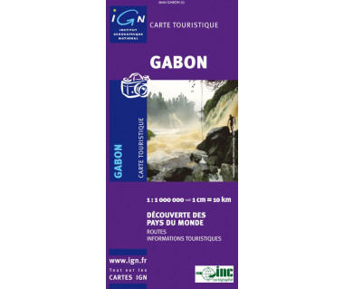 Gabon - Mapa