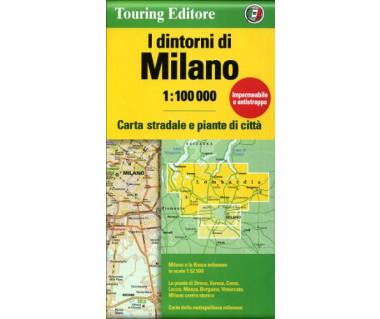 Milano, I dintorni di - Mapa wodoodporna