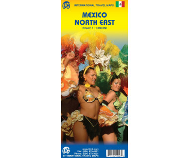 Mexico North East - Mapa