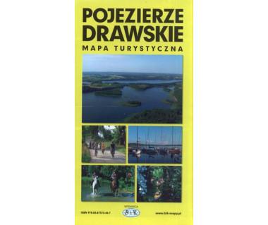 Pojezierze Drawskie mapa turystyczna