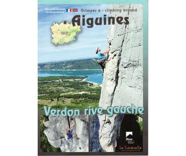 Aiguines, Verdon Rive Gauche topo climbing guide