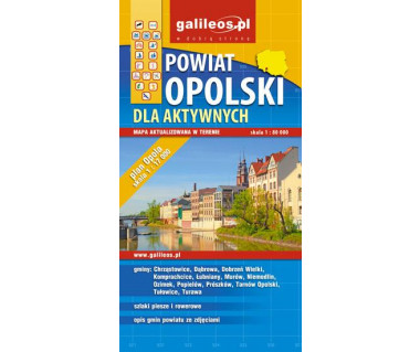 Powiat Opolski dla aktywnych - Mapa