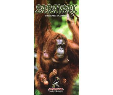 Sarawak. Malaysia-Borneo - Mapa