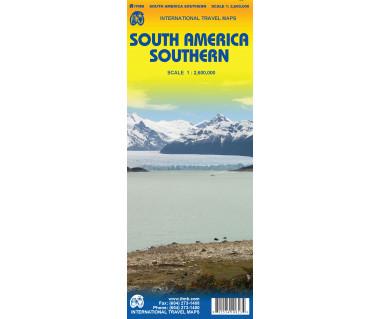 South America Southern - Mapa