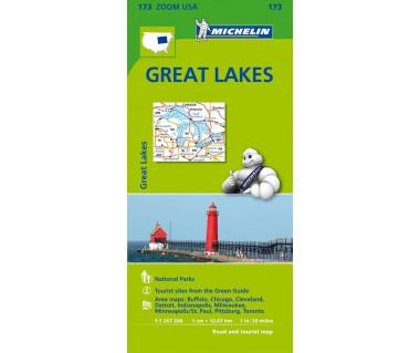 M 173 Great Lakes - Mapa