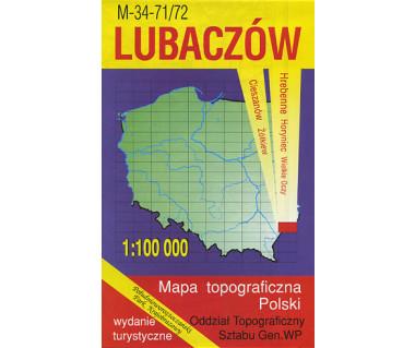 T100 Lubaczów - Mapa